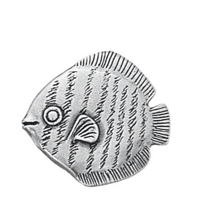 Danforth Pewter Tropical Fish Button
