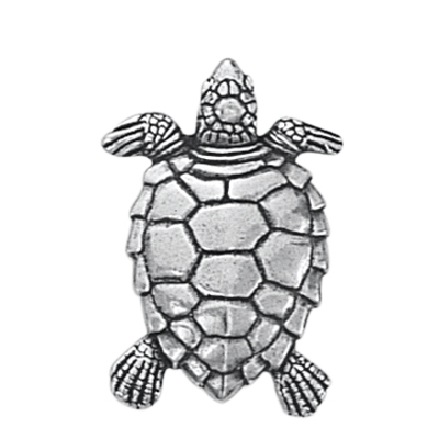 Danforth Pewter Turtle Button