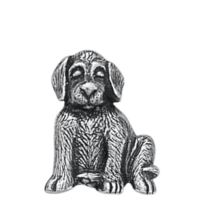 Danforth Pewter Max Dog Button