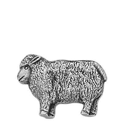 Danforth Pewter Lamb Button