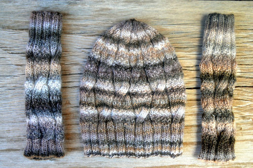 Cap and Wrist Warmers Kit