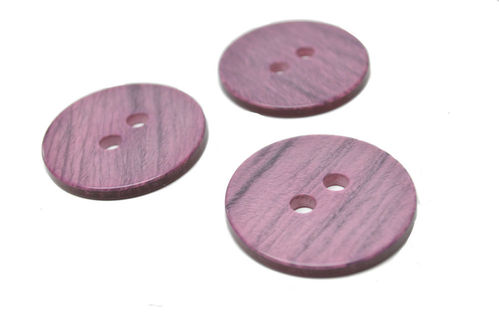Large Purple Buttons - Set of 3