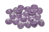 18 mm Corozo Oval - Purple