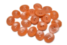 18 mm Corozo Oval - Rust